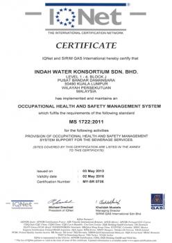 The International Certification Network MS 1722:2011