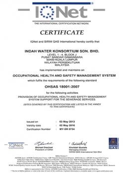 The International Certification Network OHSAS 18001:2007
