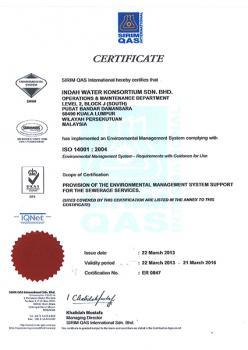 Sirim QAS ISO 14001:2004