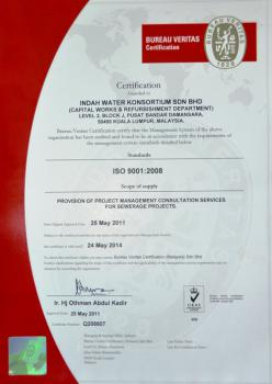 Bureau Veritas Certification ISO 9001:2008