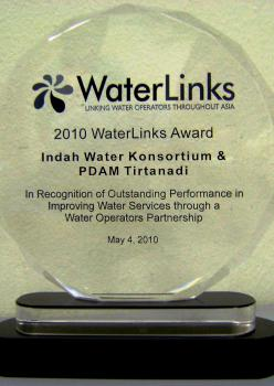 2010 Waterlinks Award
