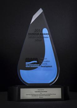 2013 Honour Award (The International Water Association)