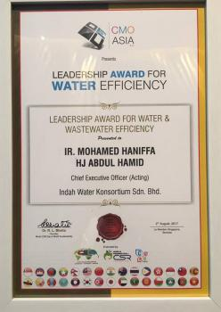 Leadership Award for Water & Wastewater Efficiency