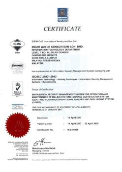 ISO IEC 27001 2013 - Information Security Mgmt System