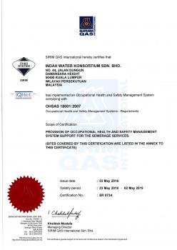 OHSAS 18001 2007 - Occupational Health and Safety Mgmt System