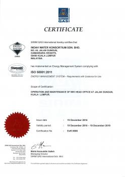ISO 50001 2011 - Energy Mgmt System