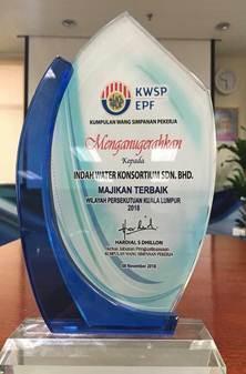KWSP - Majikan Terbaik (Wilayah Persekutuan Kuala Lumpur 2018)