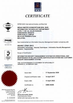 ISO/IEC 27001:2013 Information Security Management System