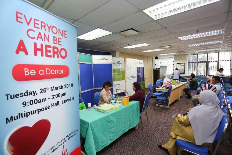 Blood Donation at KLHO